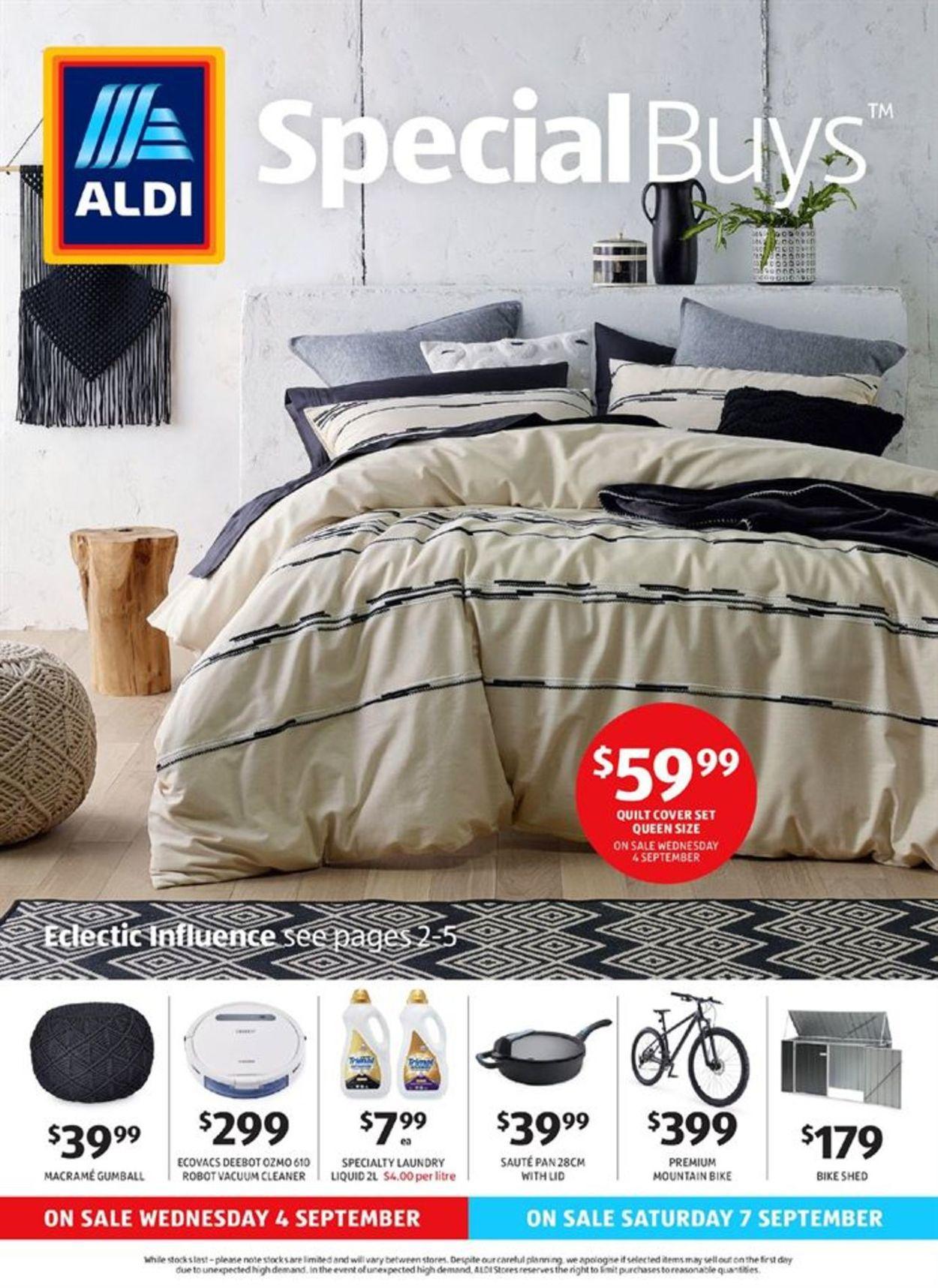 ALDI Catalogue - 04/09-10/09/2019