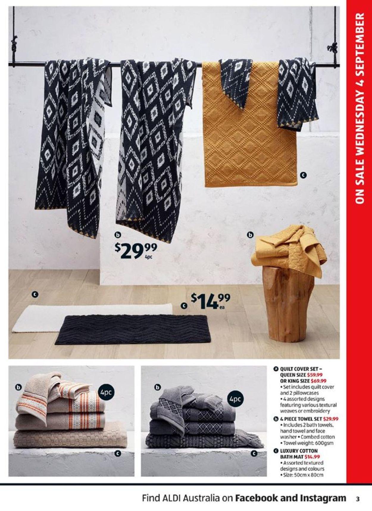 ALDI Catalogue - 04/09-10/09/2019 (Page 3)
