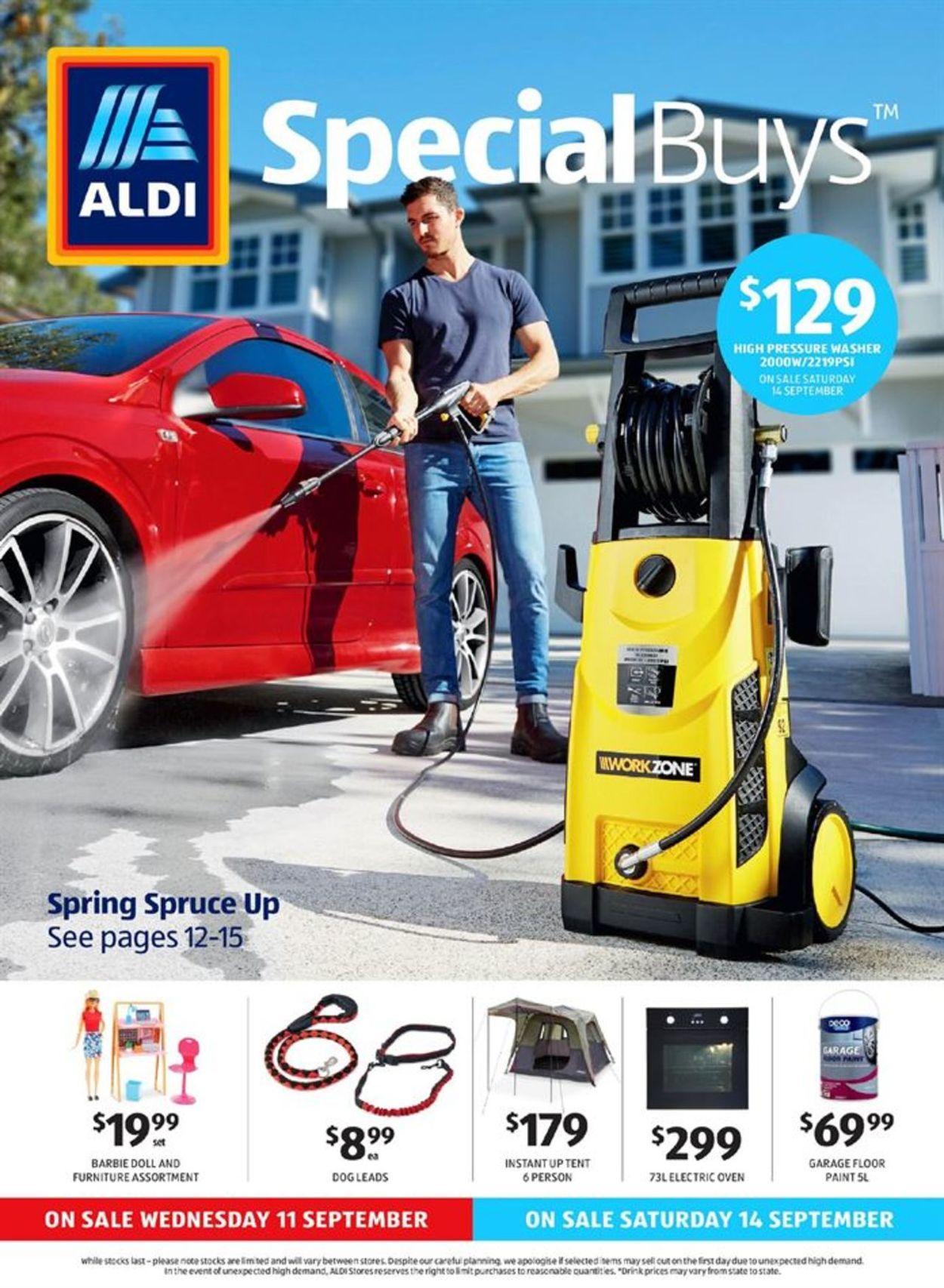 ALDI Catalogue - 11/09-17/09/2019