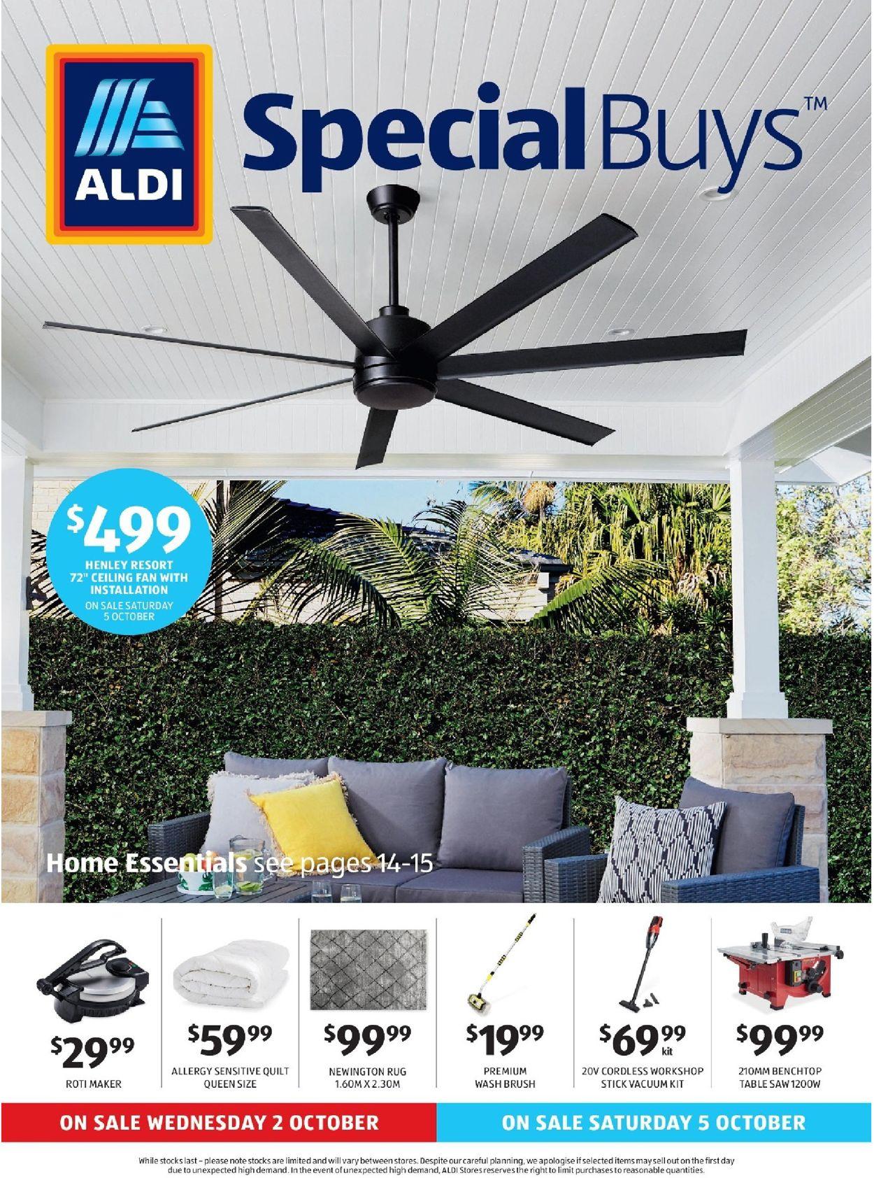 ALDI Catalogue - 02/10-08/10/2019