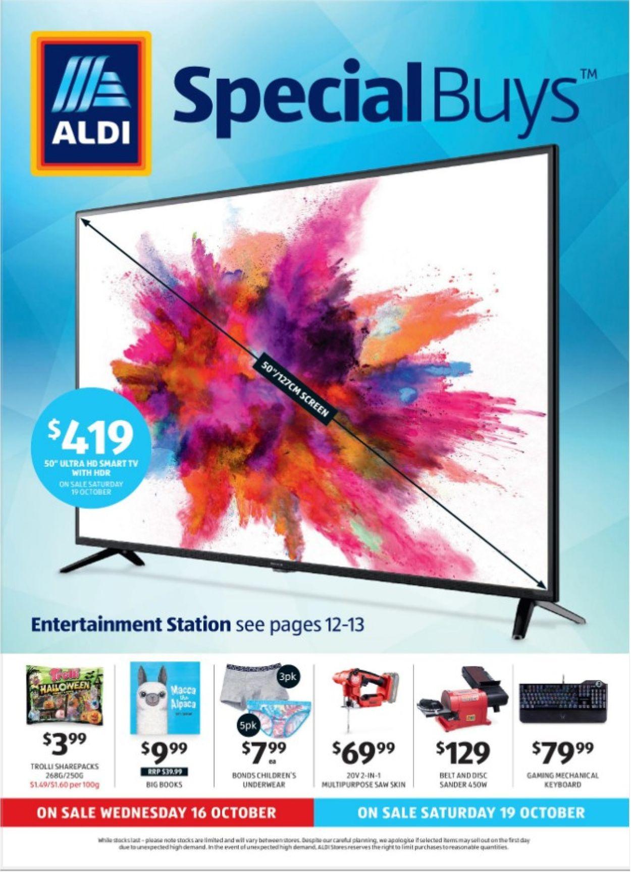 ALDI Catalogue - 20/10-26/10/2019