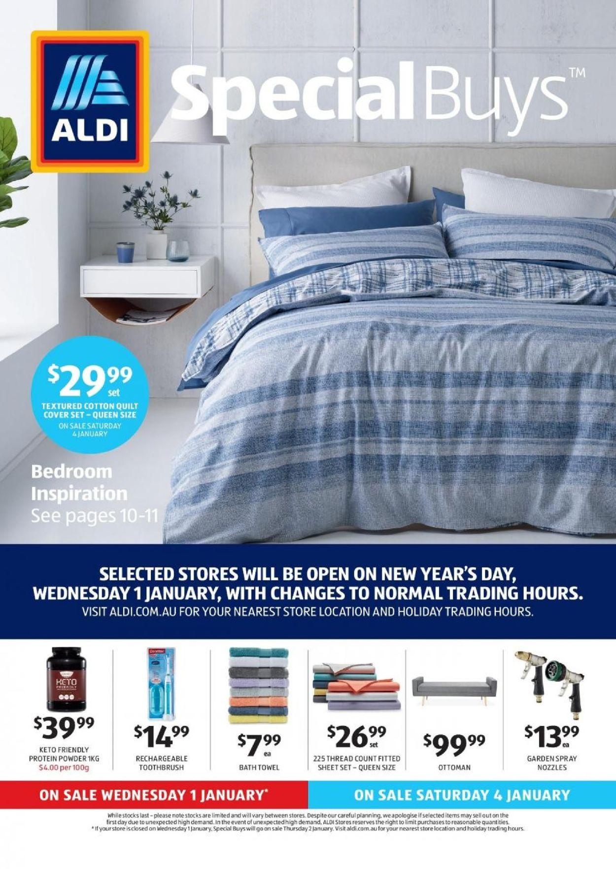 ALDI Catalogue - 01/01-07/01/2020