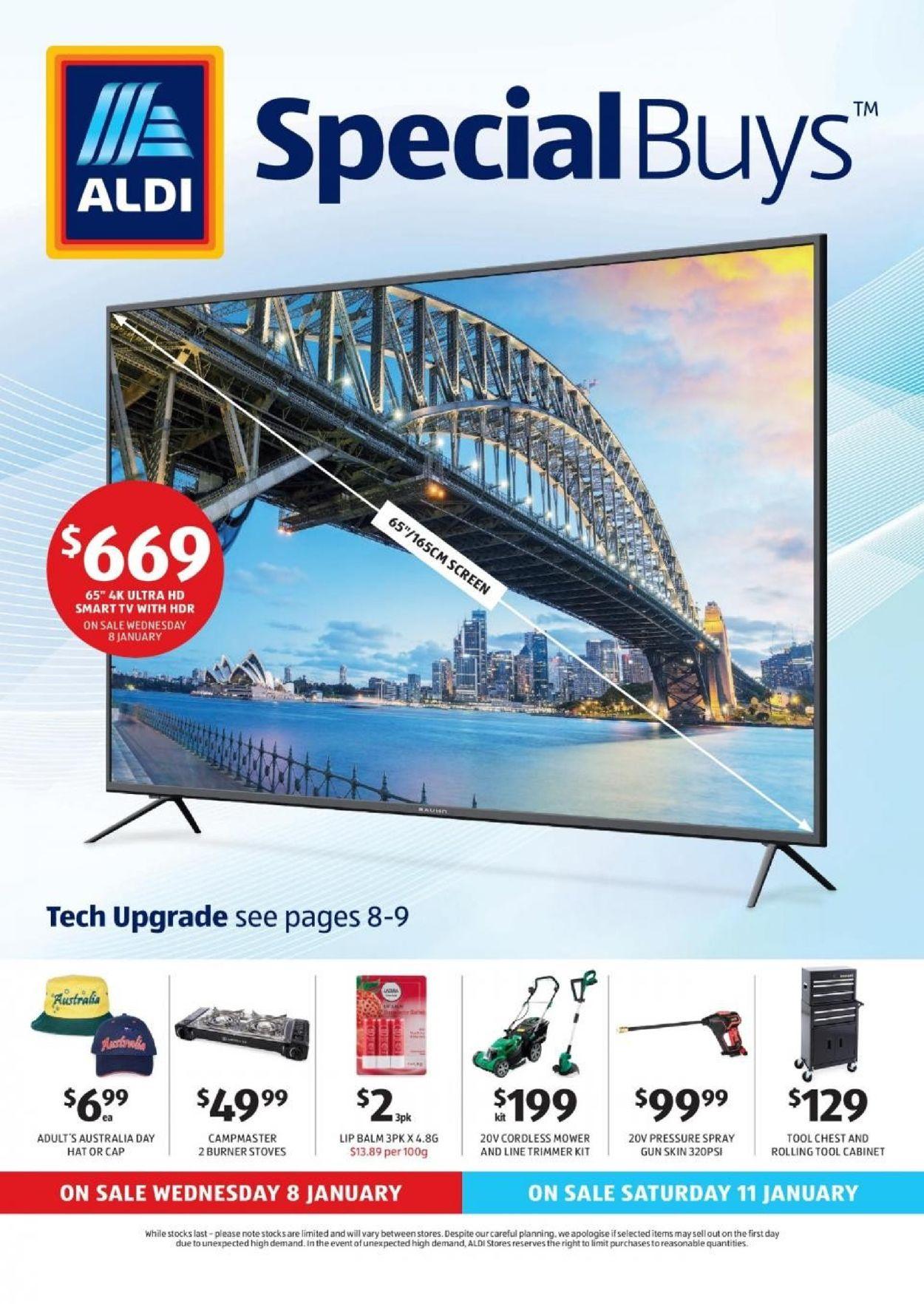 ALDI Catalogue - 08/01-14/01/2020