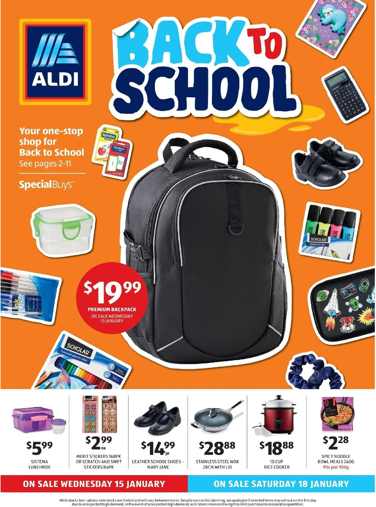 ALDI Catalogue - 15/01-21/01/2020