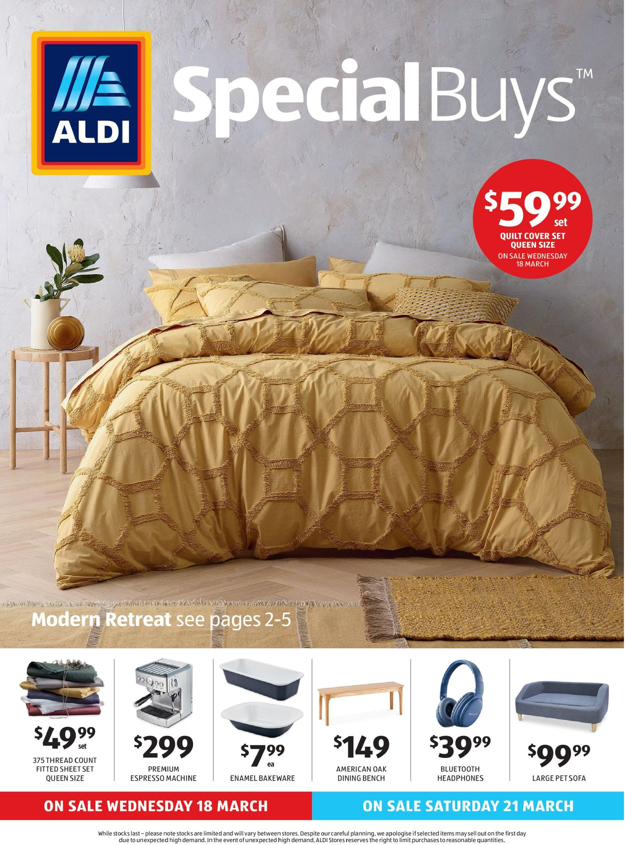 ALDI Catalogue - 18/03-24/03/2020
