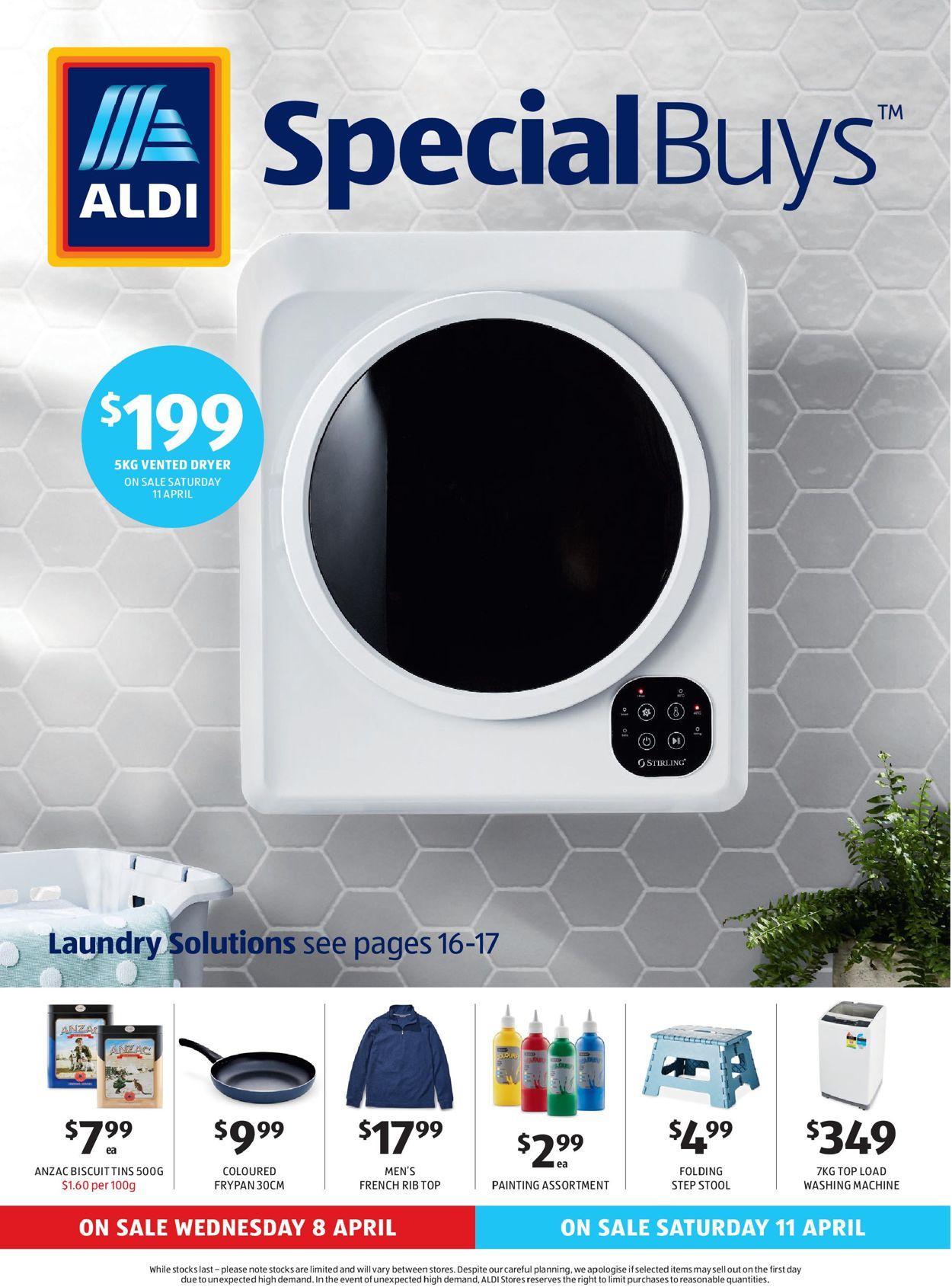 ALDI Catalogue - 08/04-14/04/2020
