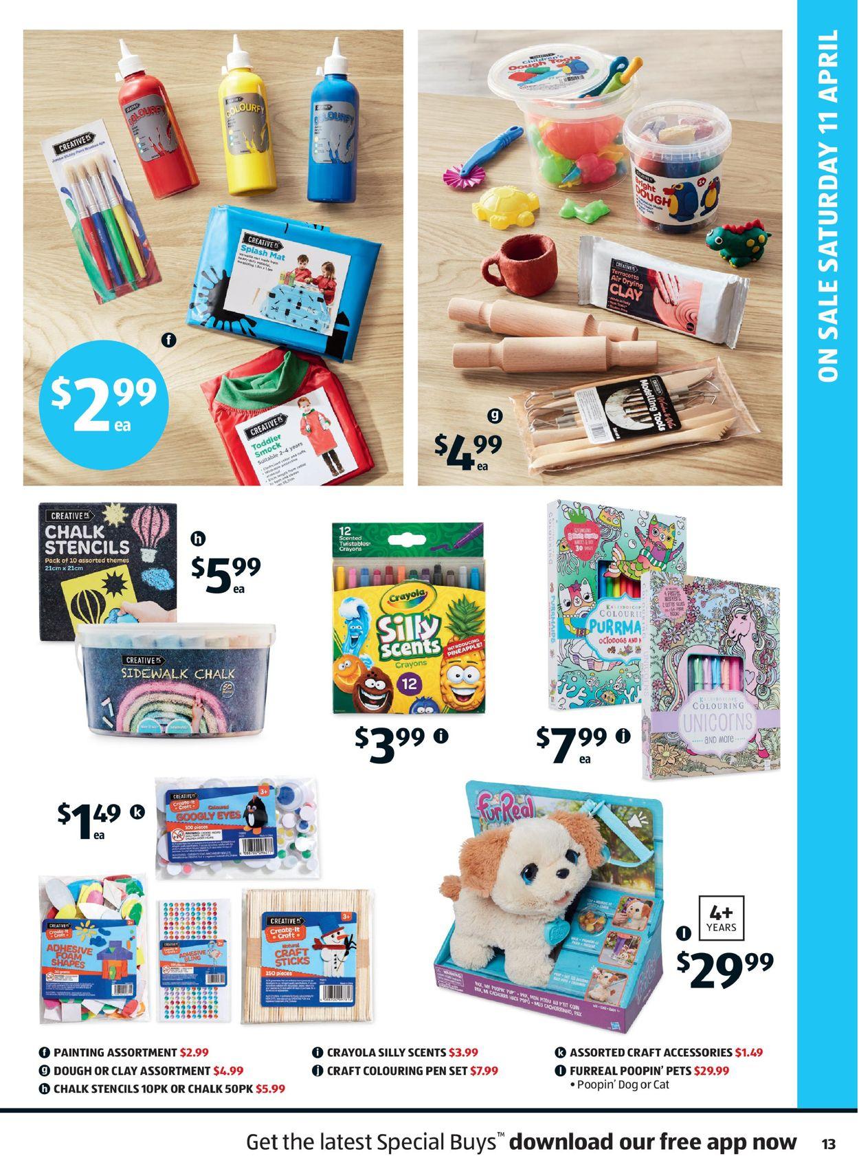 ALDI Catalogue - 08/04-14/04/2020 (Page 13)