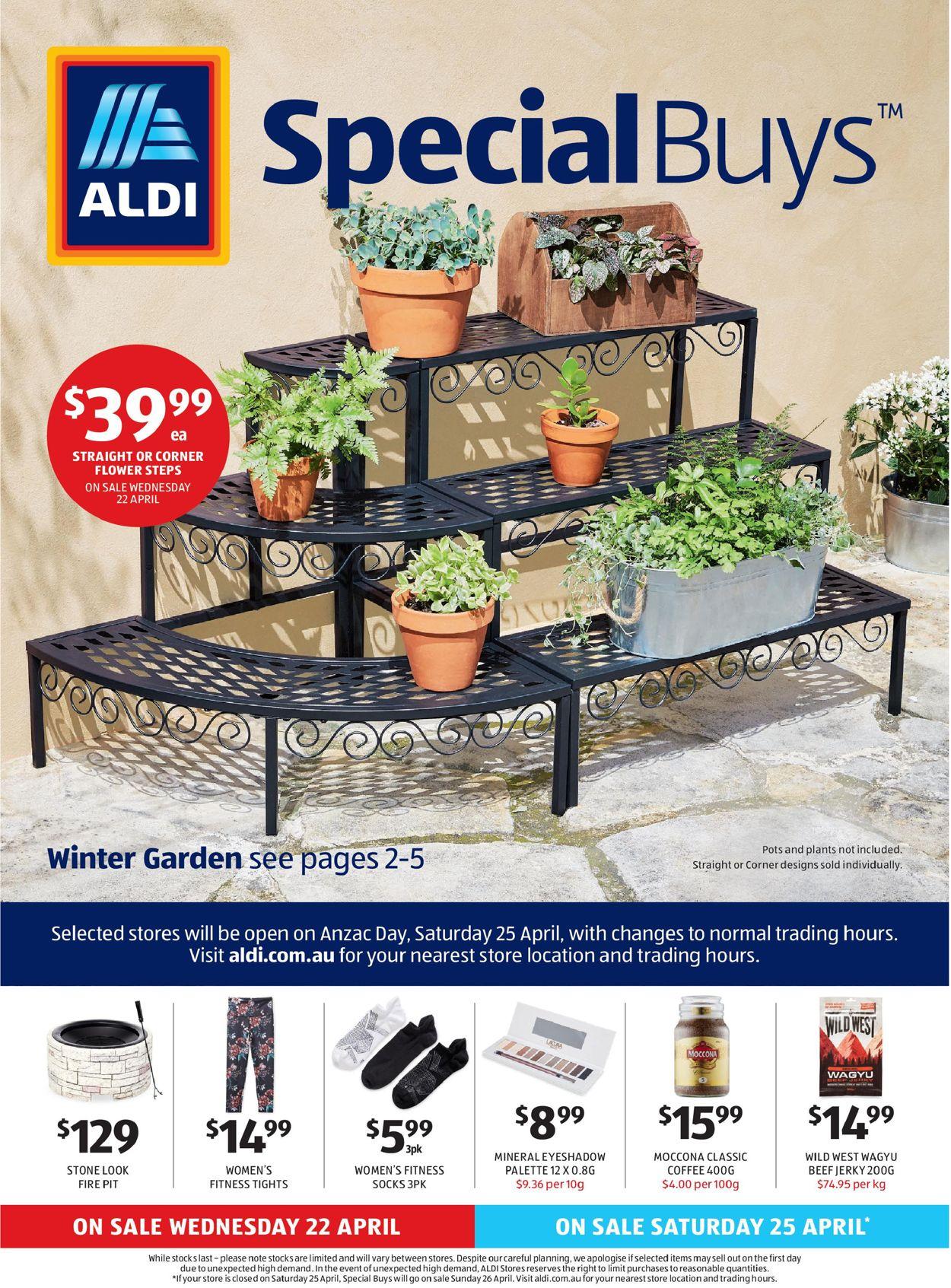 ALDI Catalogue - 22/04-28/04/2020
