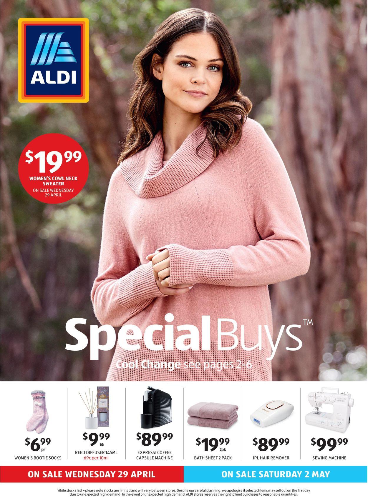 ALDI Catalogue - 29/04-05/05/2020
