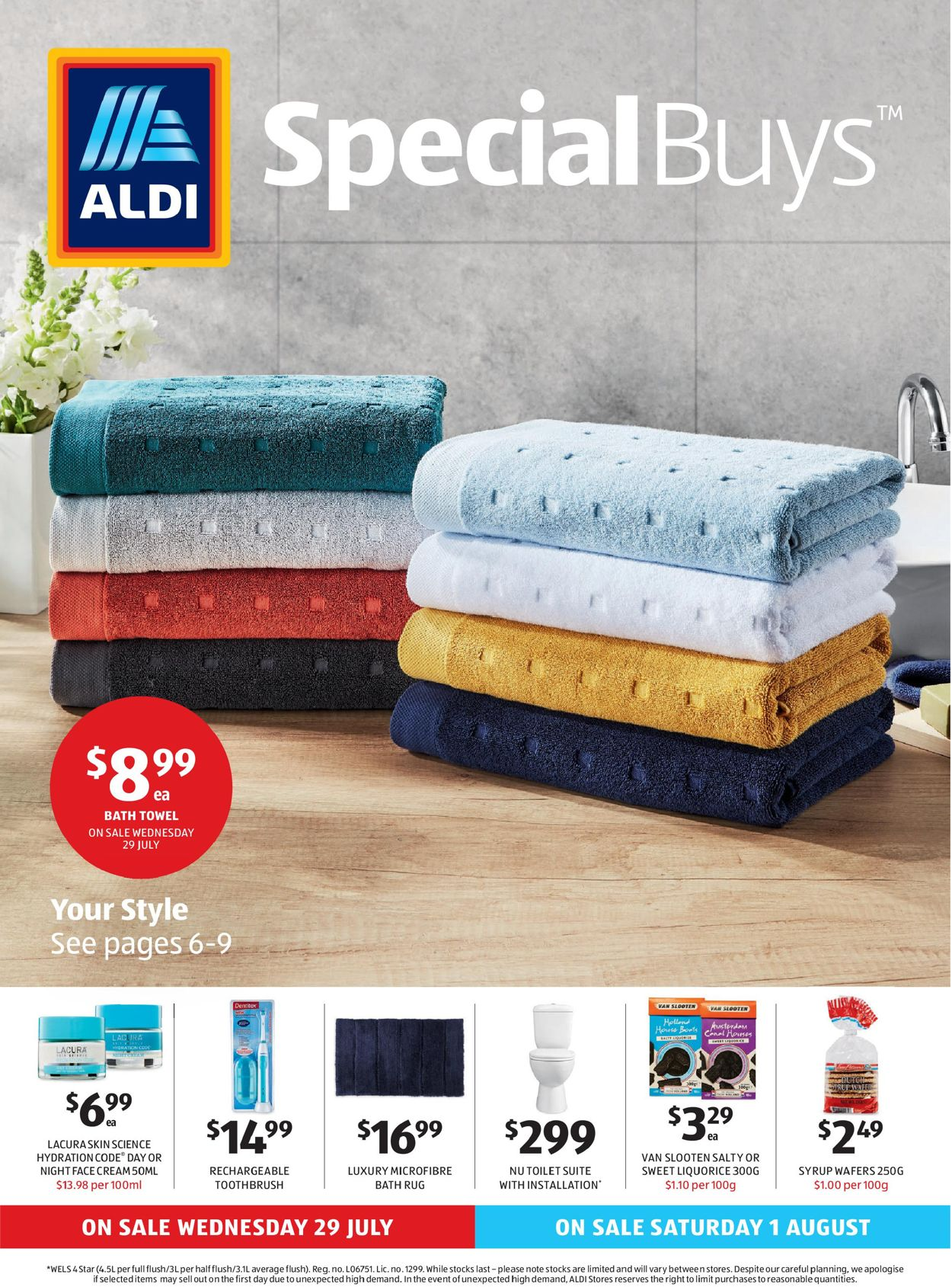 ALDI Catalogue - 29/07-05/08/2020