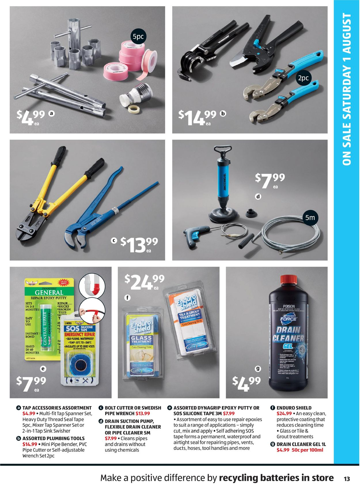 ALDI Catalogue - 29/07-05/08/2020 (Page 13)
