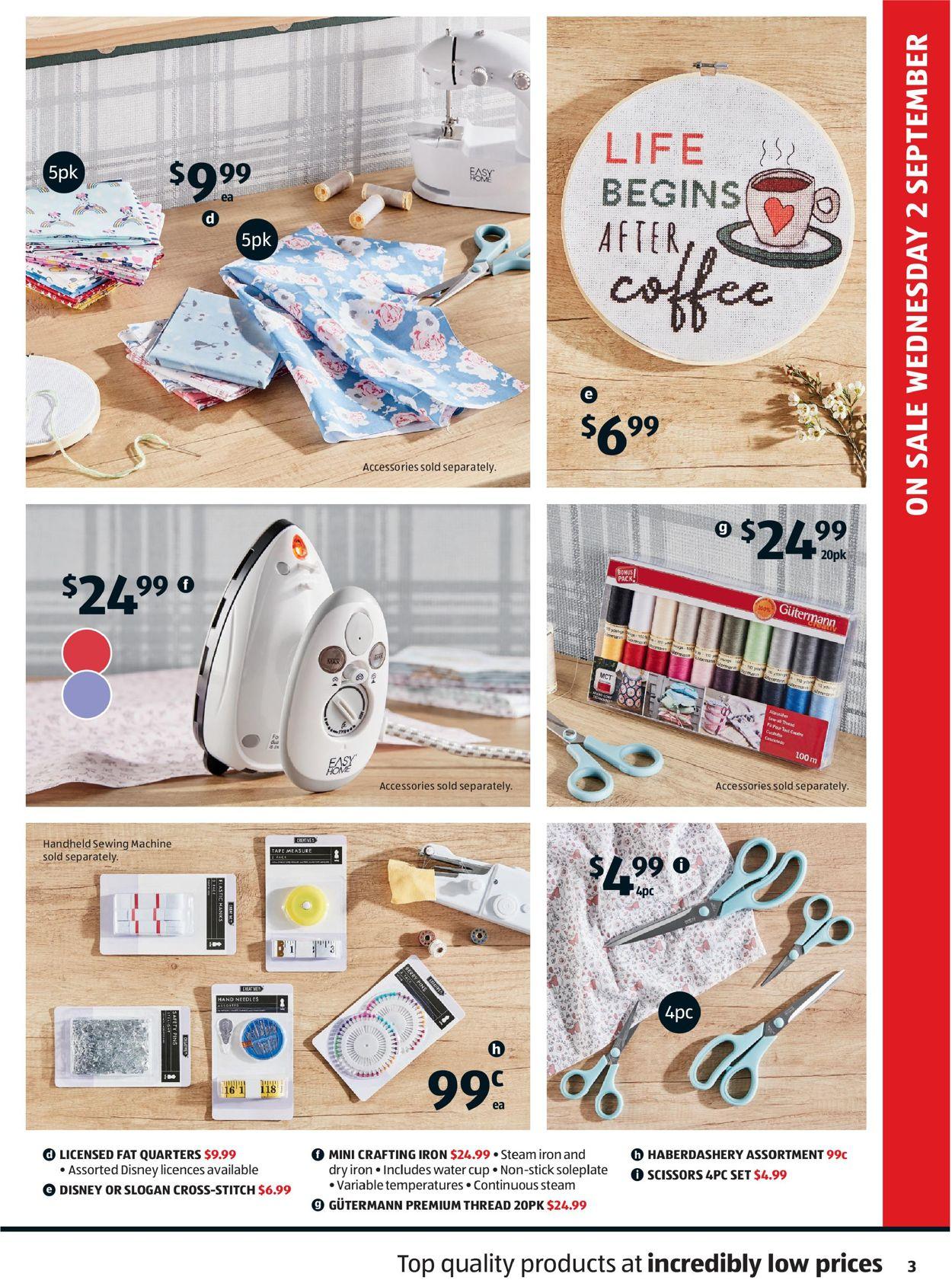 ALDI Catalogue - 02/09-09/09/2020 (Page 3)