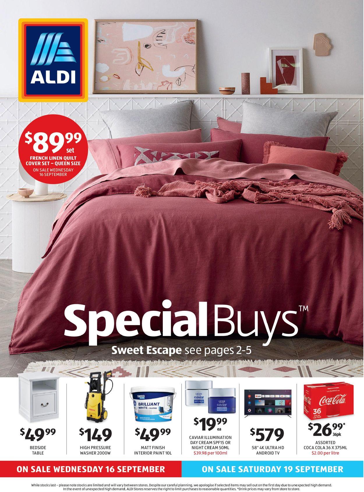 ALDI Catalogue - 16/09-22/09/2020