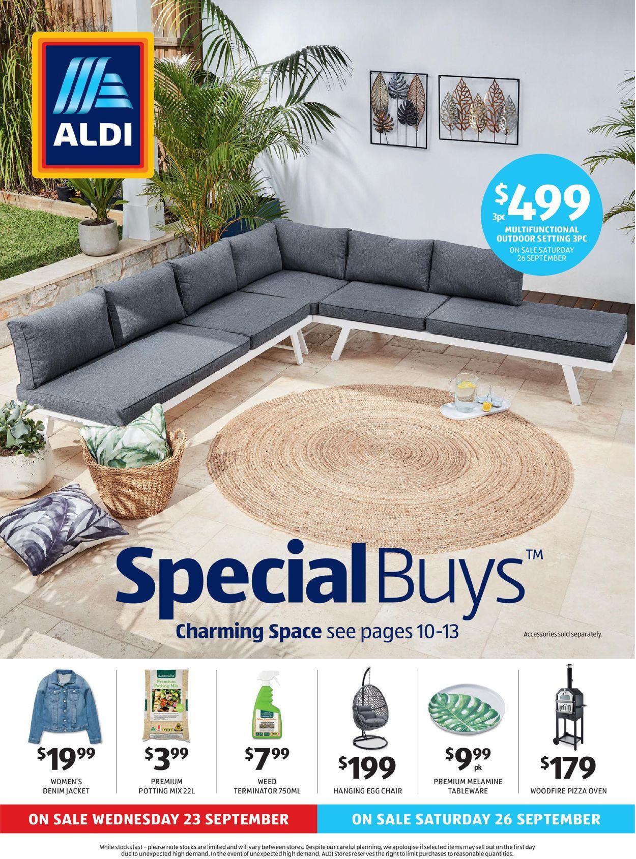 ALDI Catalogue - 23/09-29/09/2020