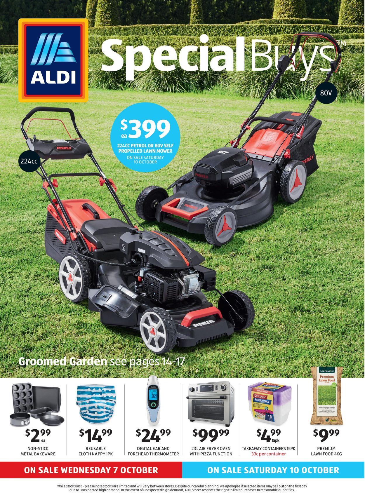 ALDI Catalogue - 07/10-13/10/2020