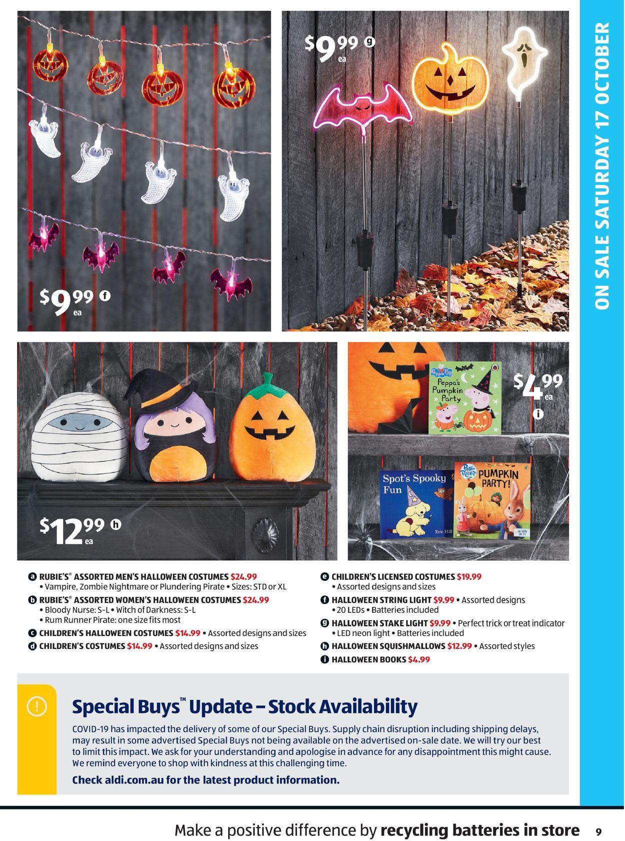 ALDI Catalogue - 14/10-20/10/2020 (Page 9)