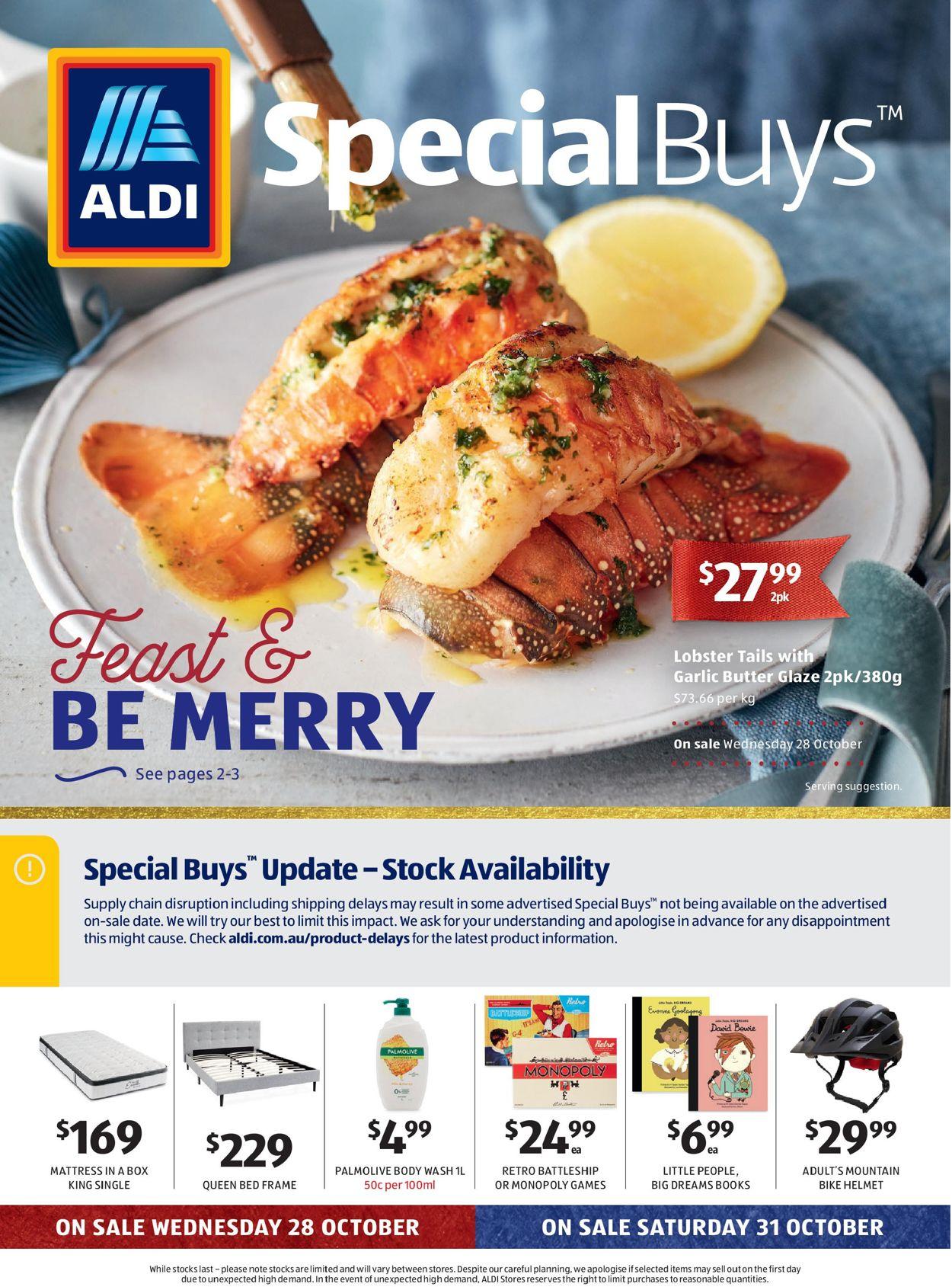 ALDI Catalogue - 28/10-03/11/2020