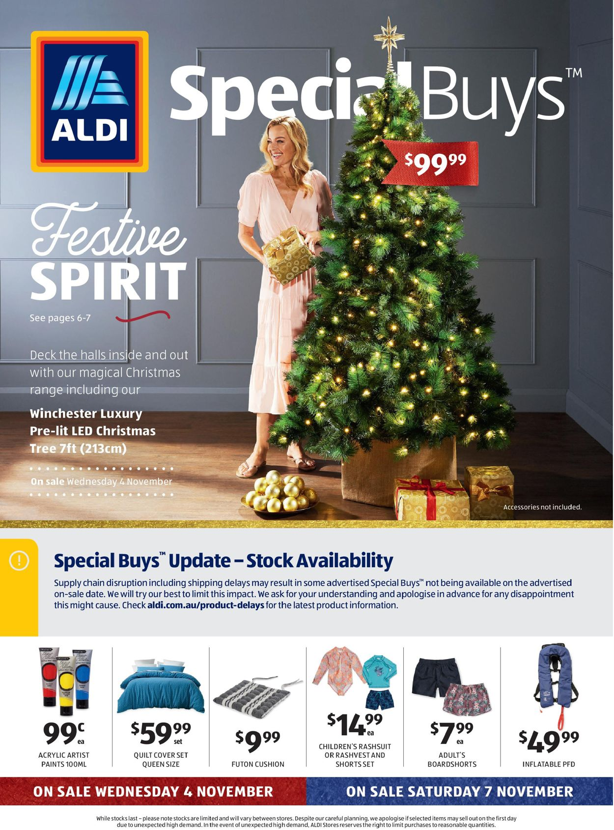 ALDI Christmas 2020 Catalogue - 04/11-10/11/2020