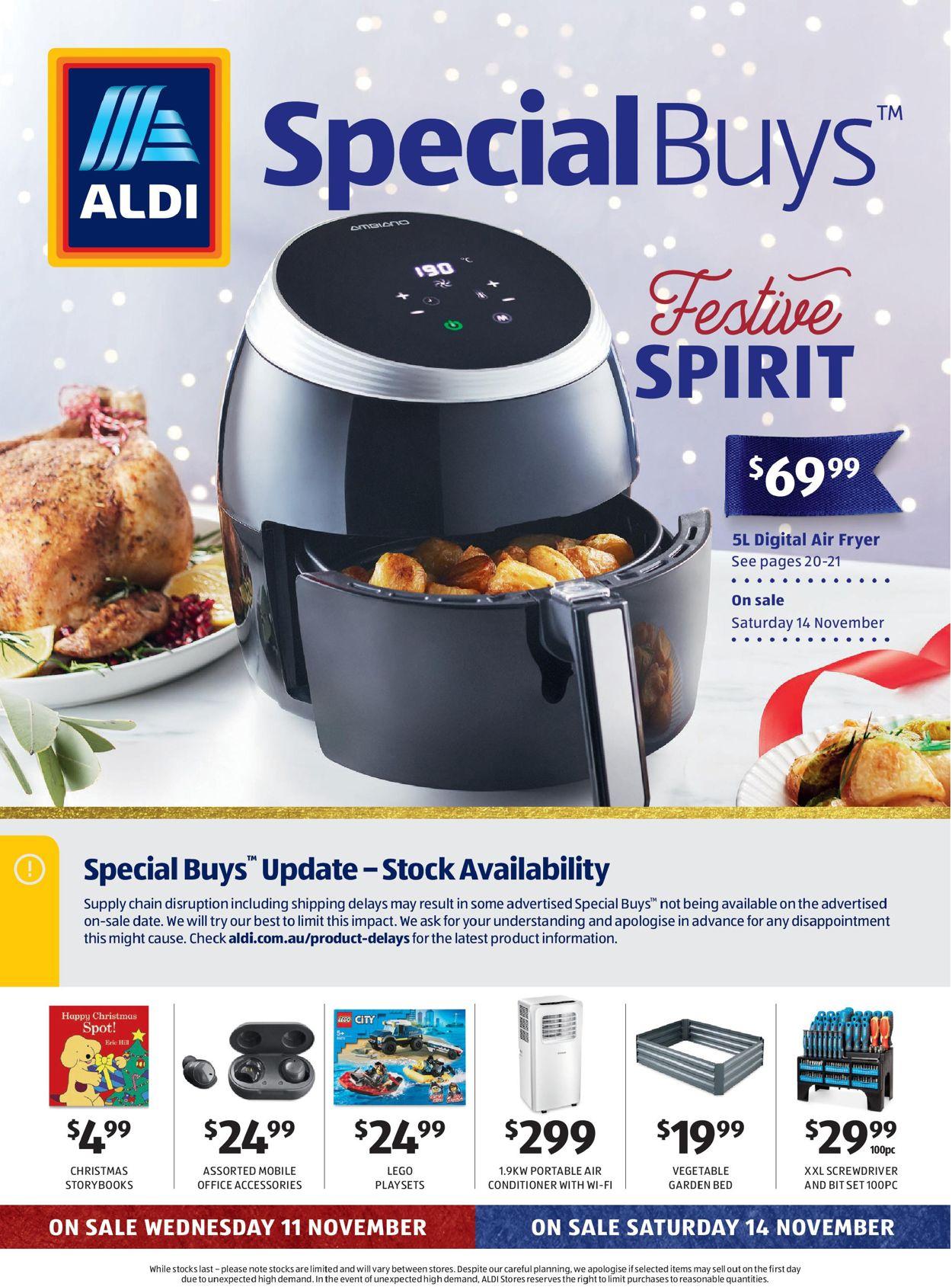 ALDI Christmas 2020 Catalogue - 11/11-17/11/2020
