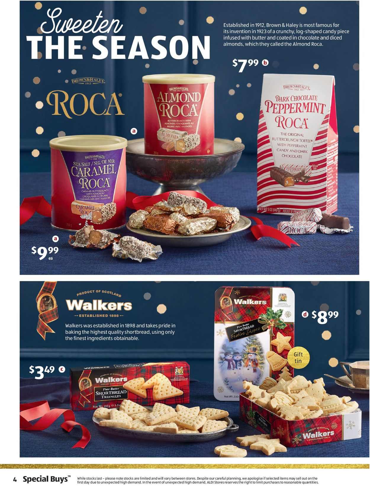 ALDI Christmas 2020 Catalogue - 11/11-17/11/2020 (Page 4)