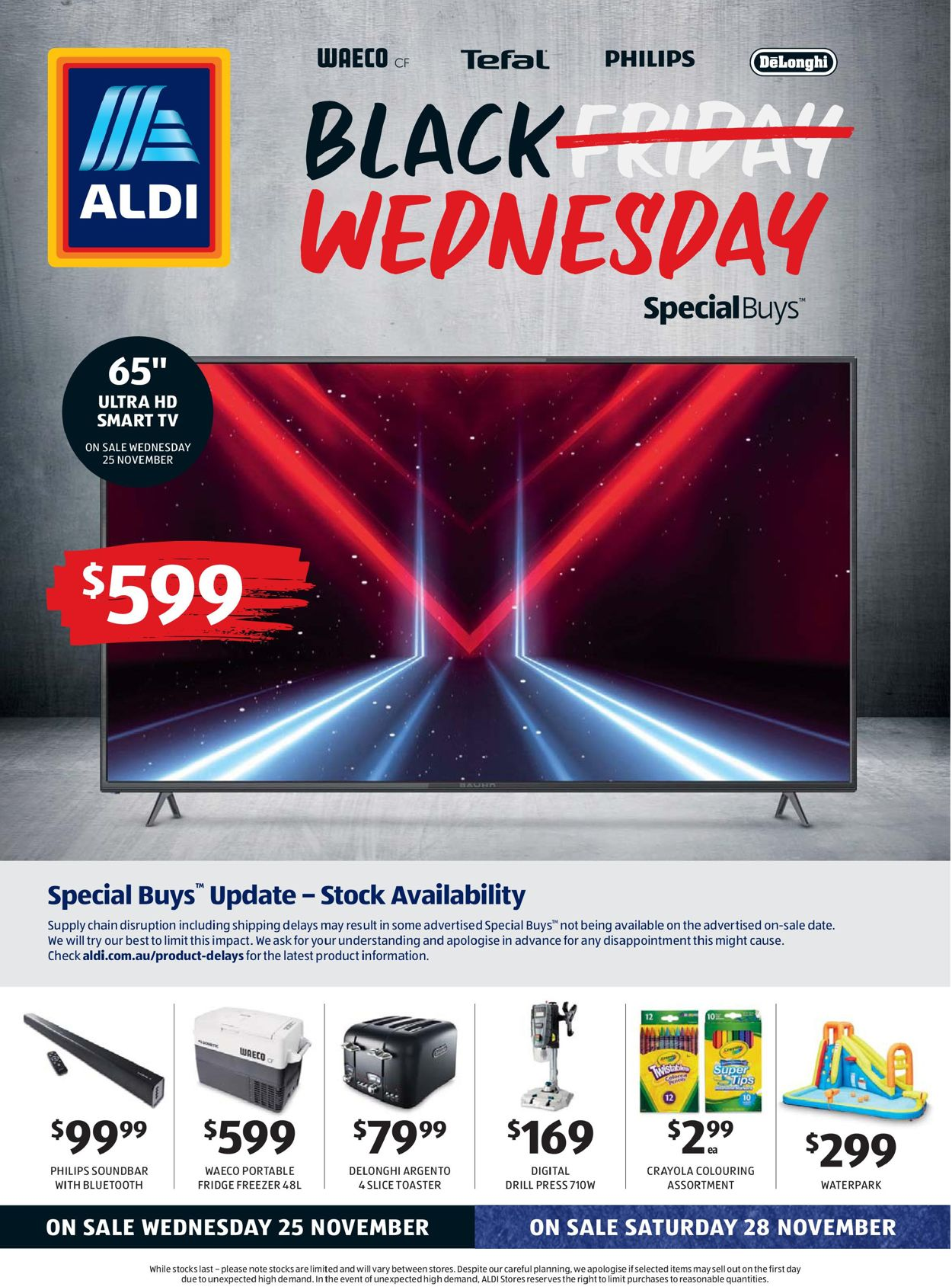 ALDI Black Friday 2020 Catalogue - 25/11-02/12/2020