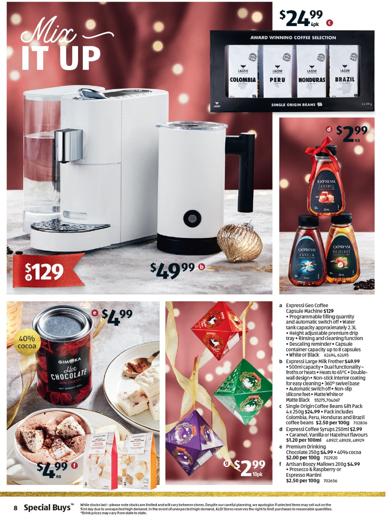 ALDI - Holiday 2020 Catalogue - 09/12-15/12/2020 (Page 8)