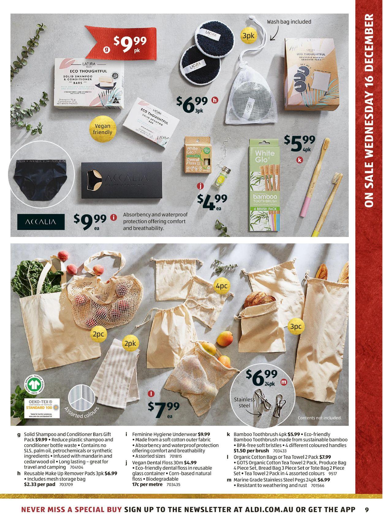 ALDI - Holiday 2020 Catalogue - 16/12-22/12/2020 (Page 9)