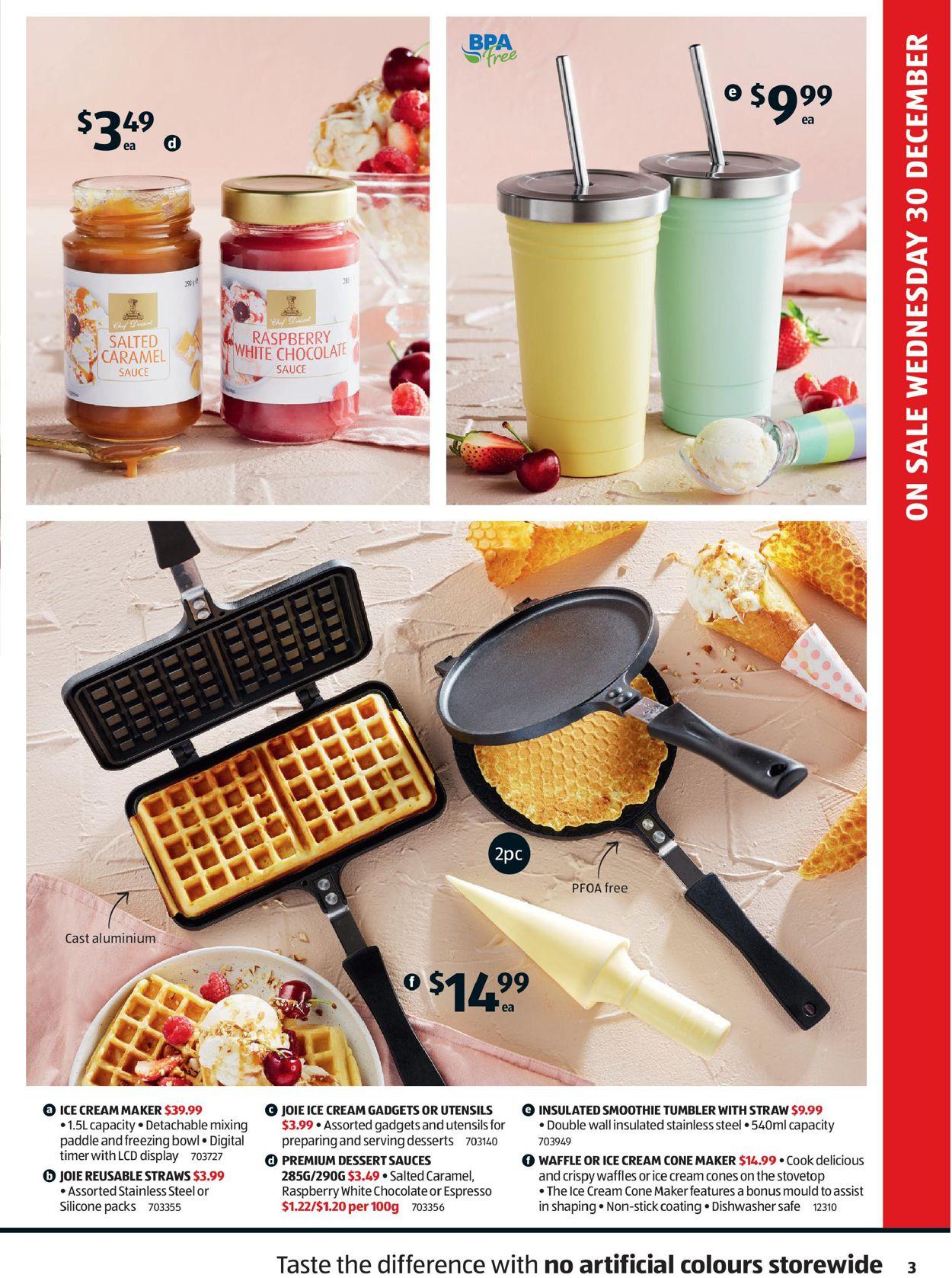 ALDI - New Year 2020/2021 Catalogue - 30/12-06/01/2021 (Page 3)