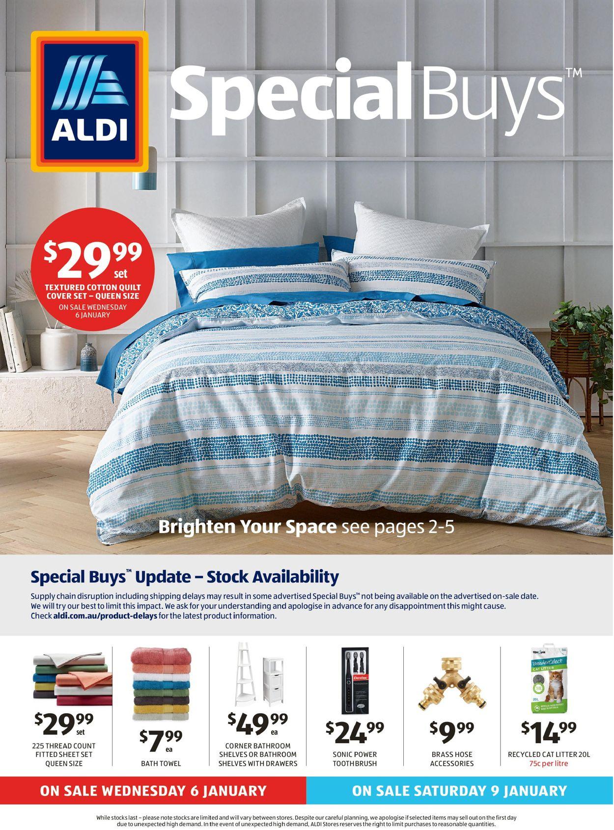 ALDI Catalogue - 06/01-13/01/2021