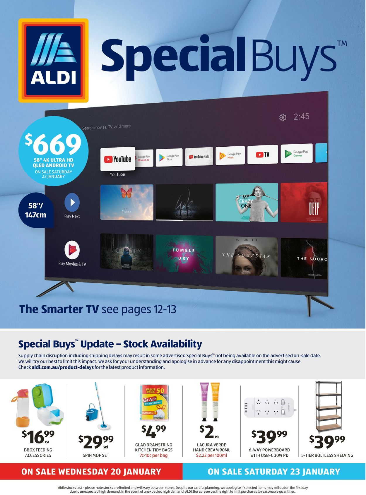 ALDI Catalogue - 20/01-27/01/2021