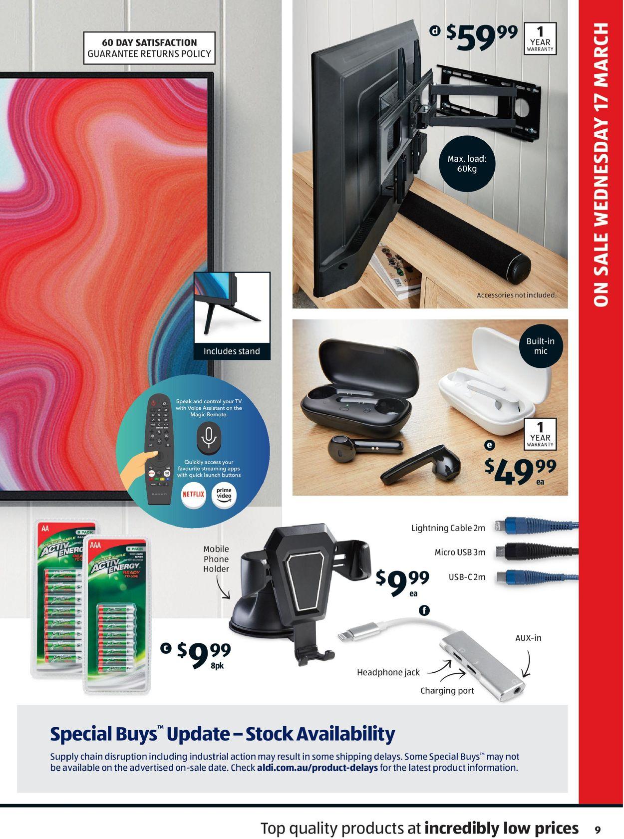ALDI Catalogue - 17/03-24/03/2021 (Page 9)