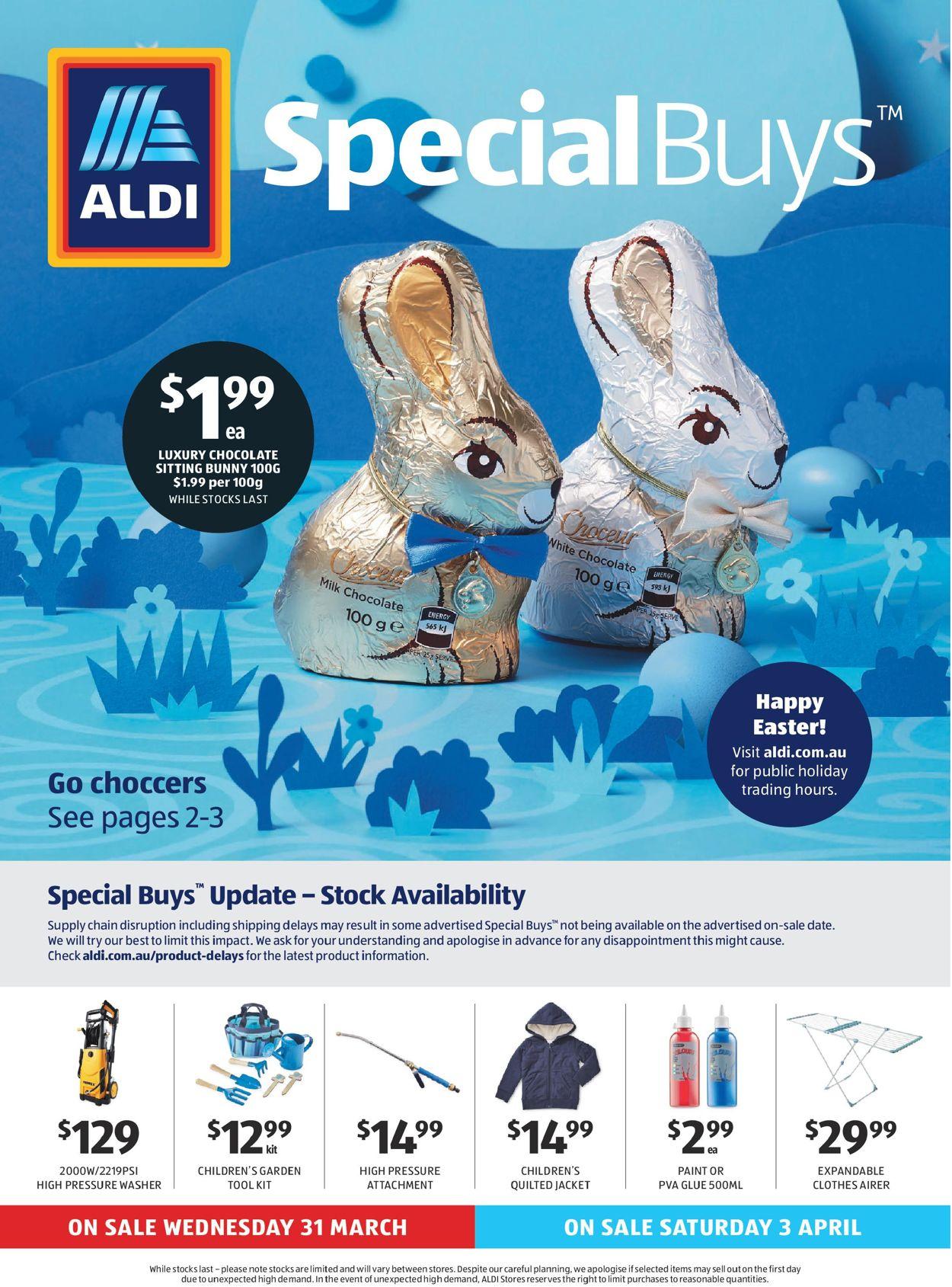 ALDI Catalogue - 31/03-07/04/2021