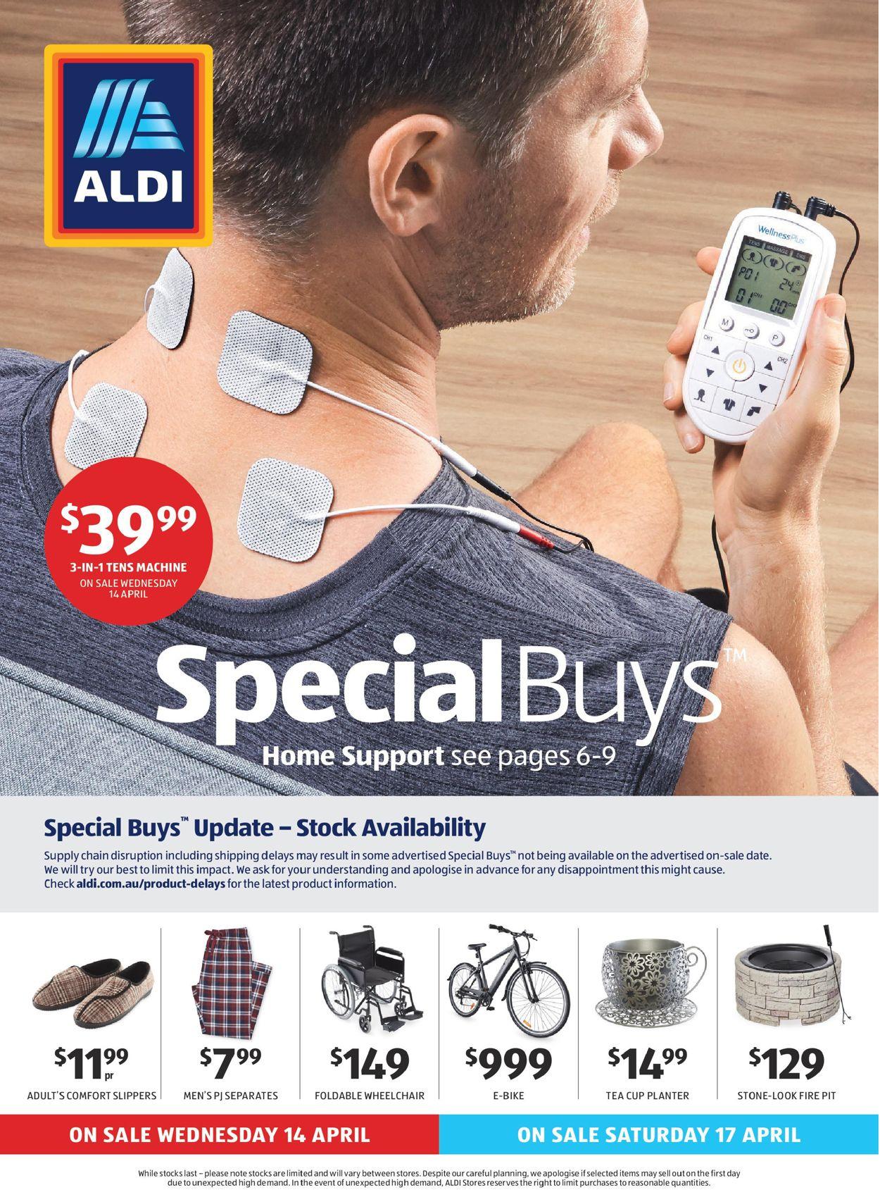 ALDI Catalogue - 14/04-21/04/2021