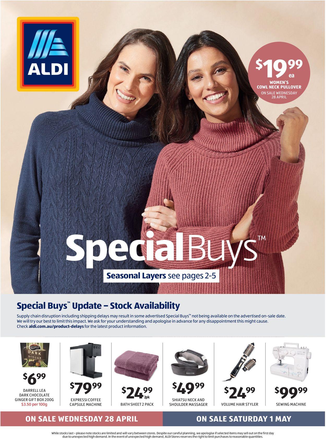 ALDI Catalogue - 28/04-04/05/2021