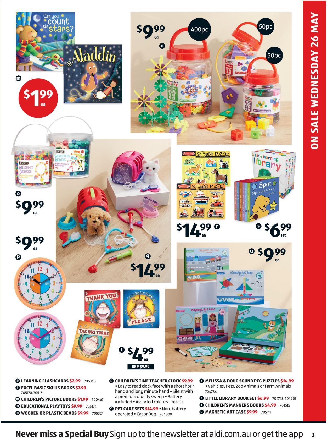 ALDI Catalogue - 26/05-01/06/2021 (Page 3)