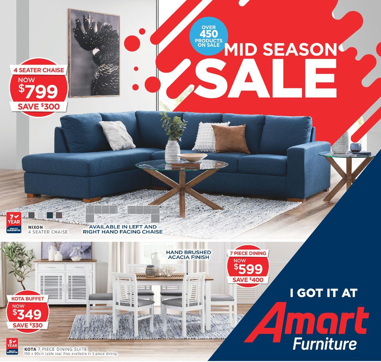 Amart Furniture Catalogue - 01/04-28/04/2020