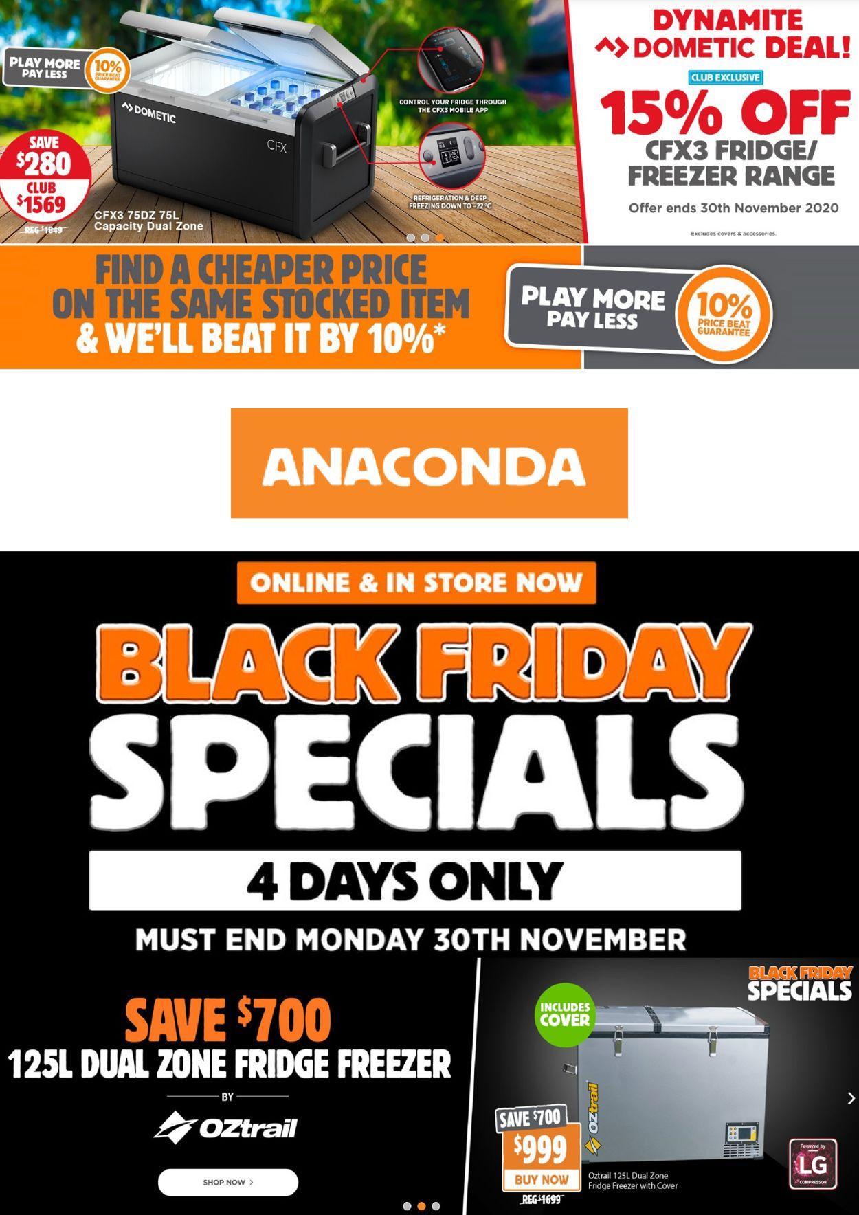 Anaconda - Black Friday 2020 Catalogue - 26/11-30/11/2020
