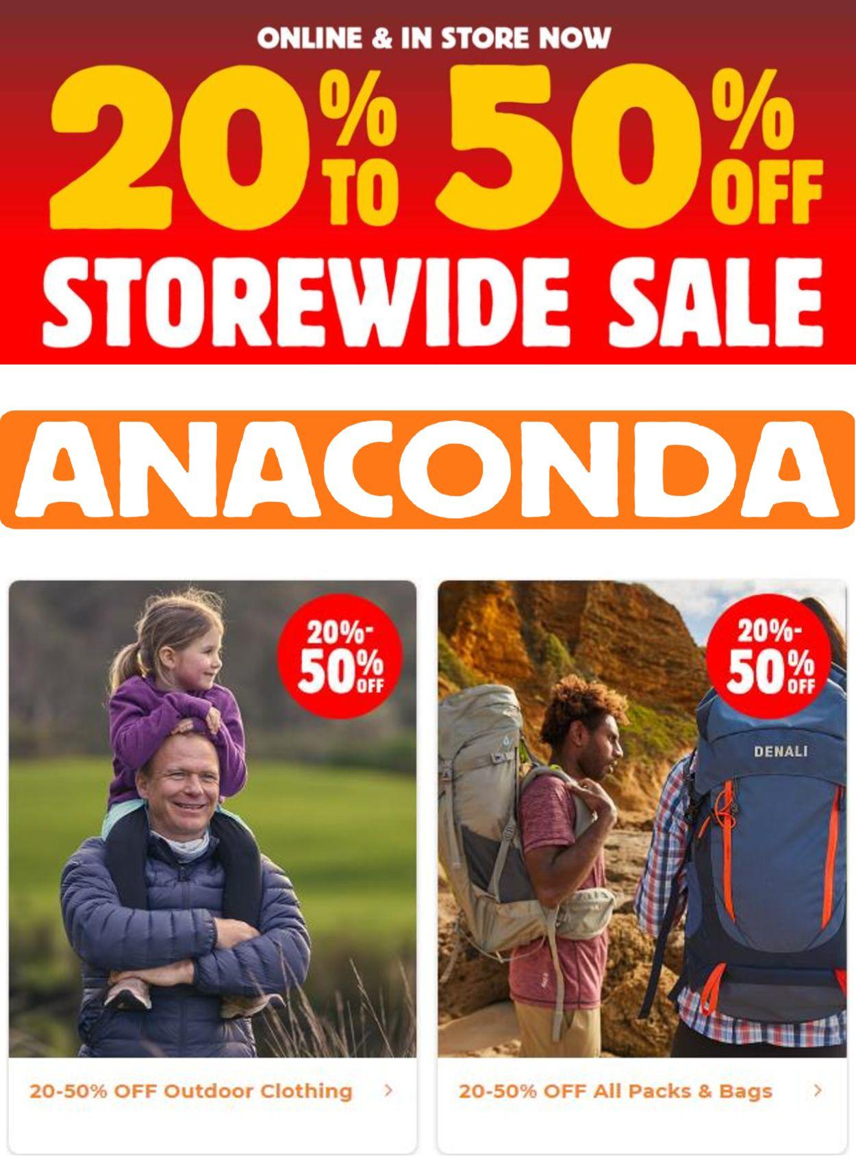 Anaconda Catalogue - 03/03-09/03/2021