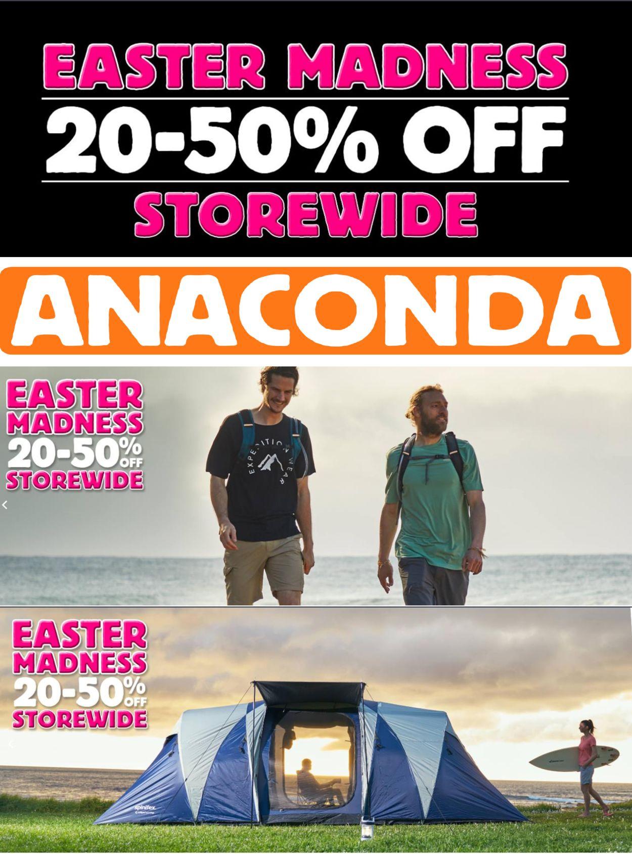 Anaconda Catalogue - 02/04-08/04/2021