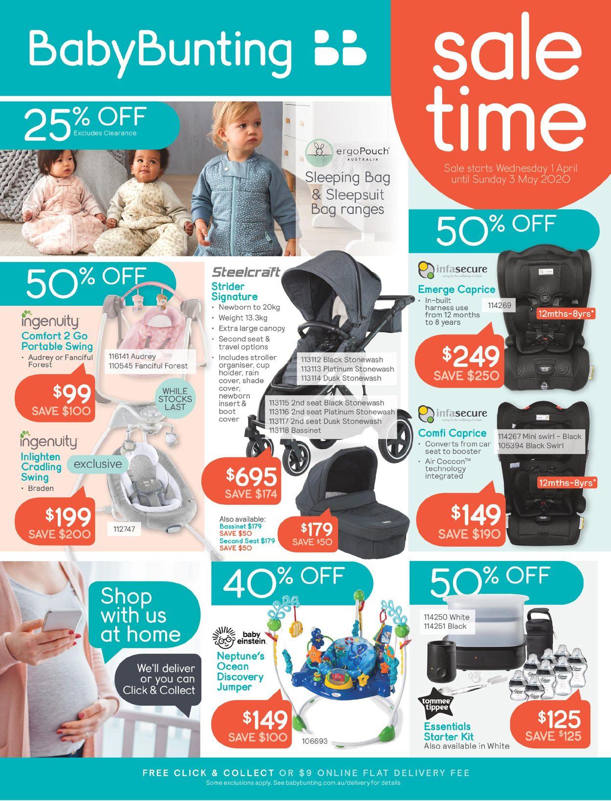 Baby Bunting Catalogue - 01/04-03/05/2020