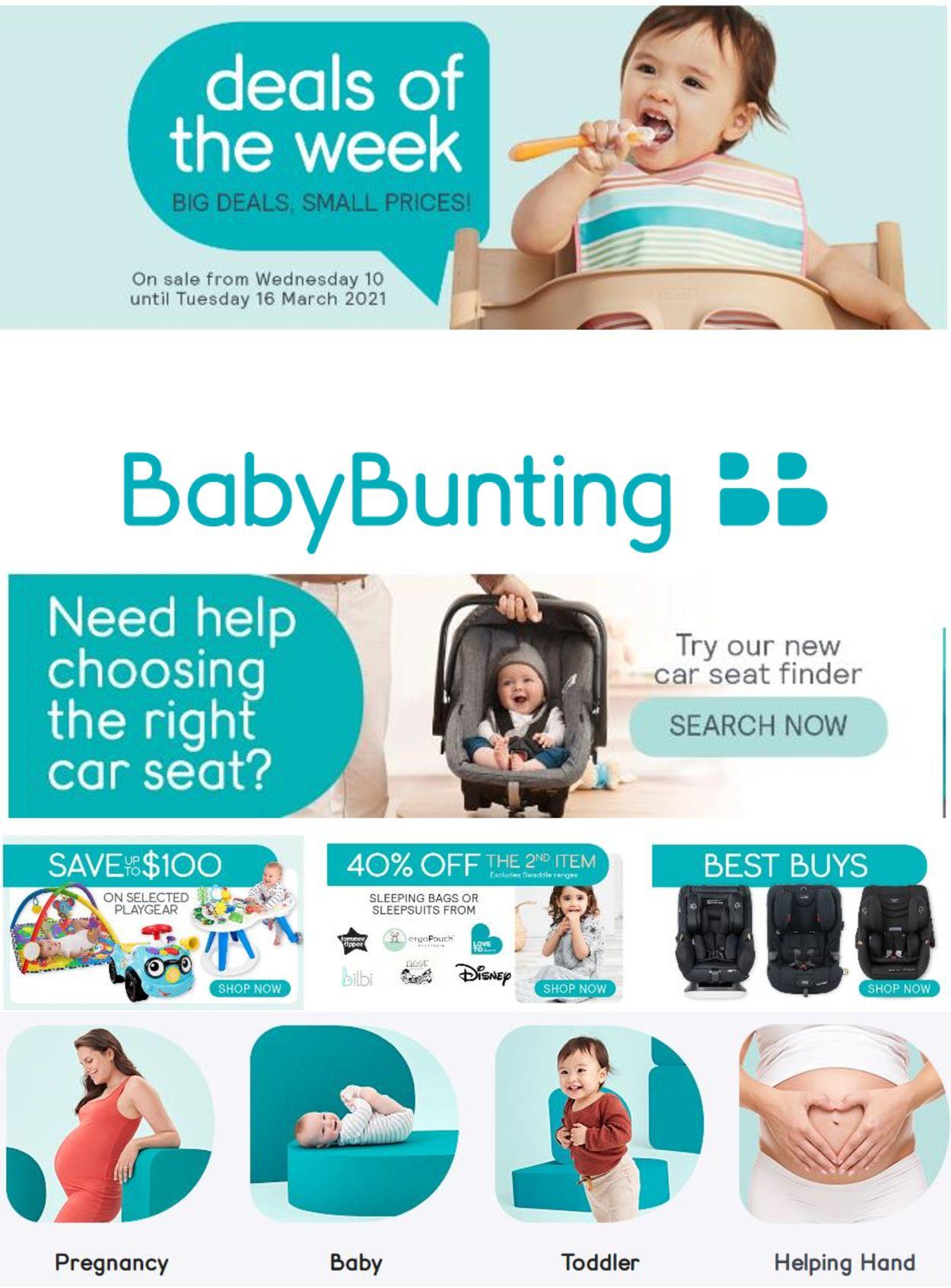 Baby Bunting Catalogue - 10/03-16/03/2021