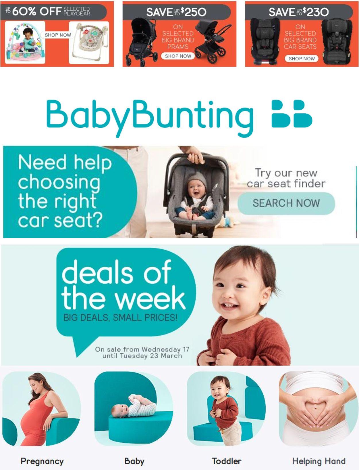 Baby Bunting Catalogue - 17/03-23/03/2021
