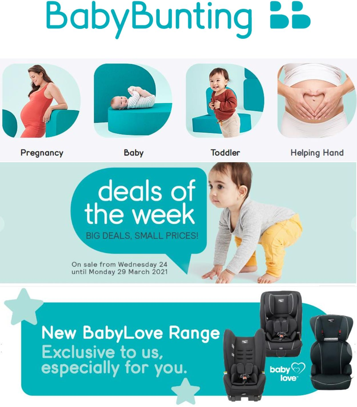 Baby Bunting Catalogue - 24/03-29/03/2021