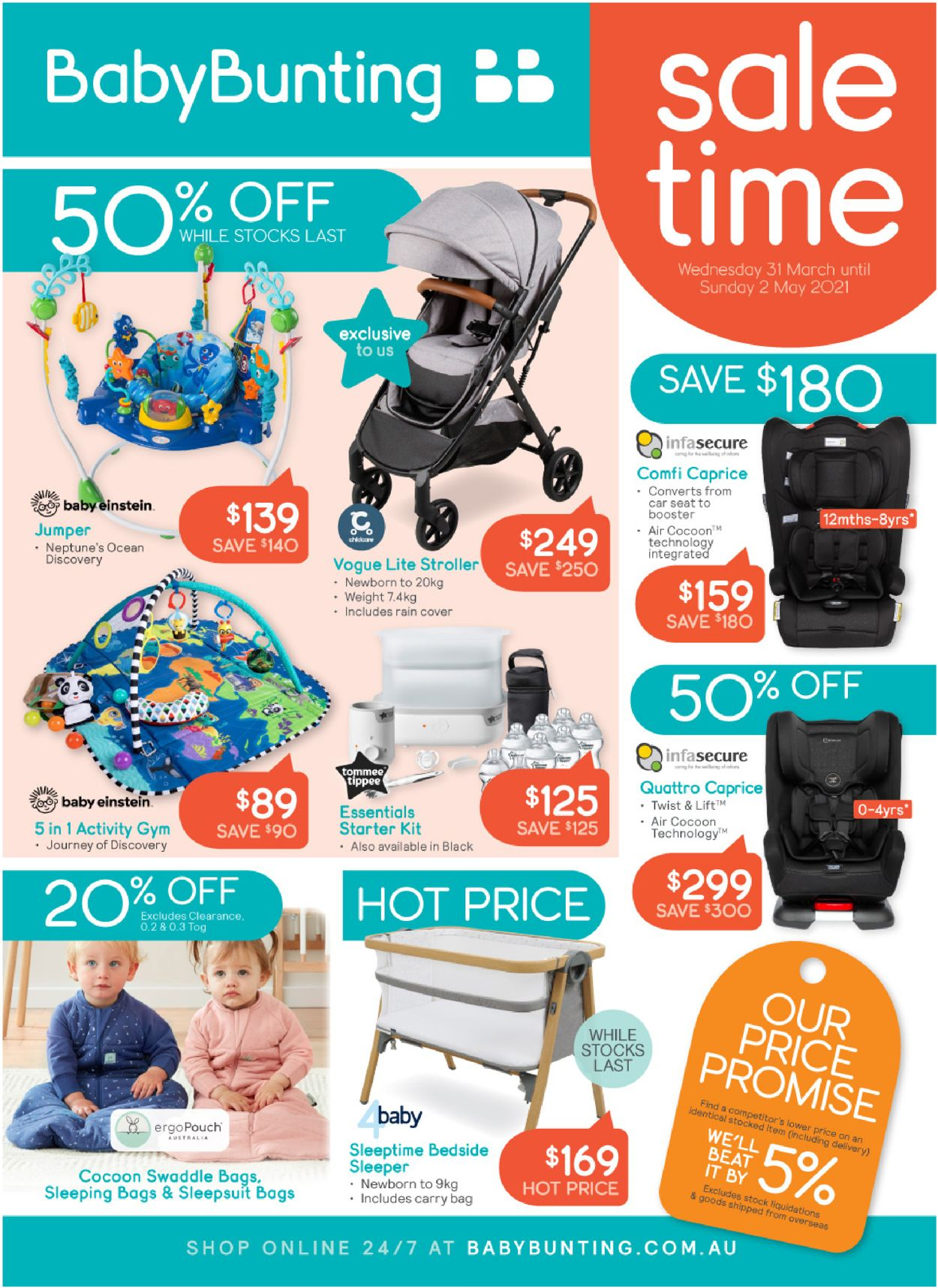 Baby Bunting Catalogue - 31/03-02/05/2021