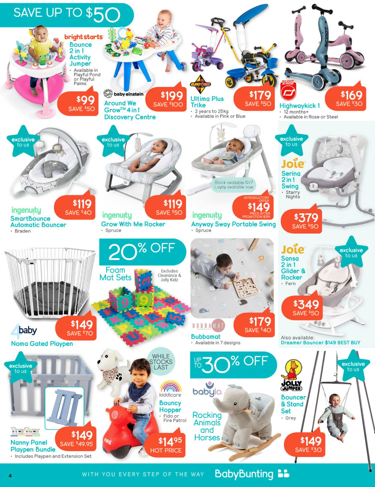 Baby Bunting Catalogue - 05/07-25/07/2021 (Page 4)