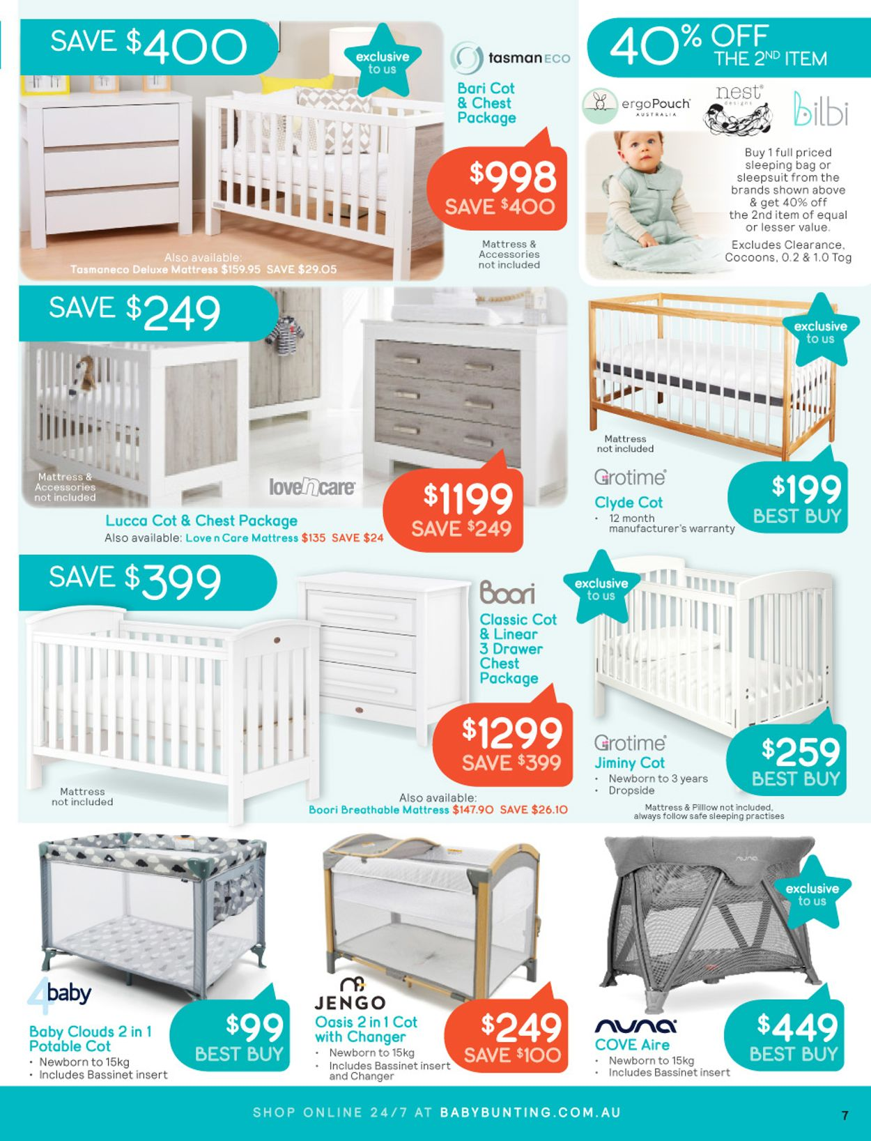Baby Bunting Catalogue - 05/07-25/07/2021 (Page 7)