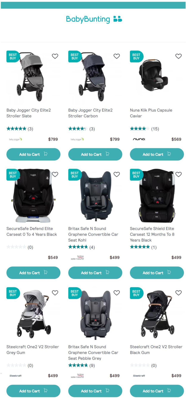 Baby Bunting Catalogue - 27/07-02/08/2021