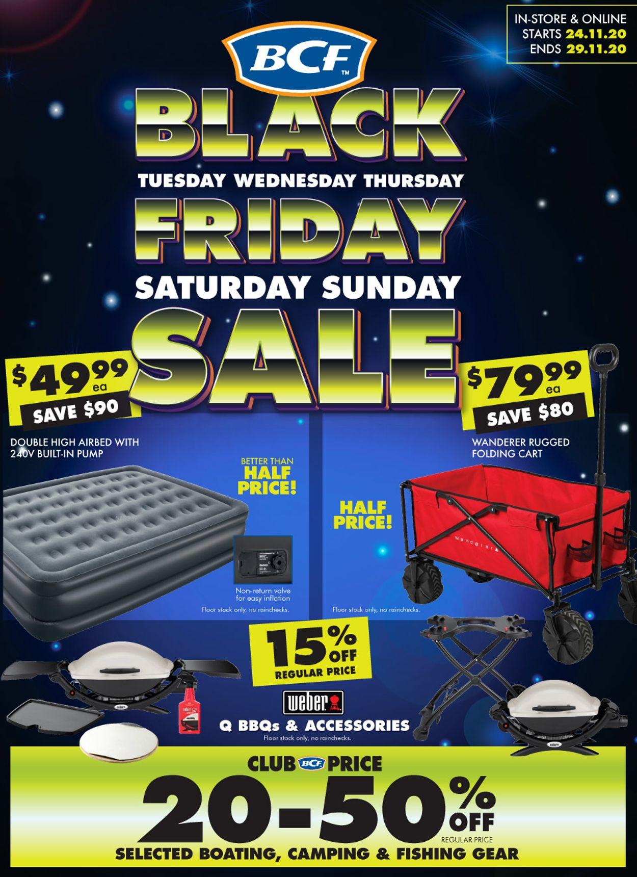 BCF - Black Friday 2020 Catalogue - 24/11-29/11/2020