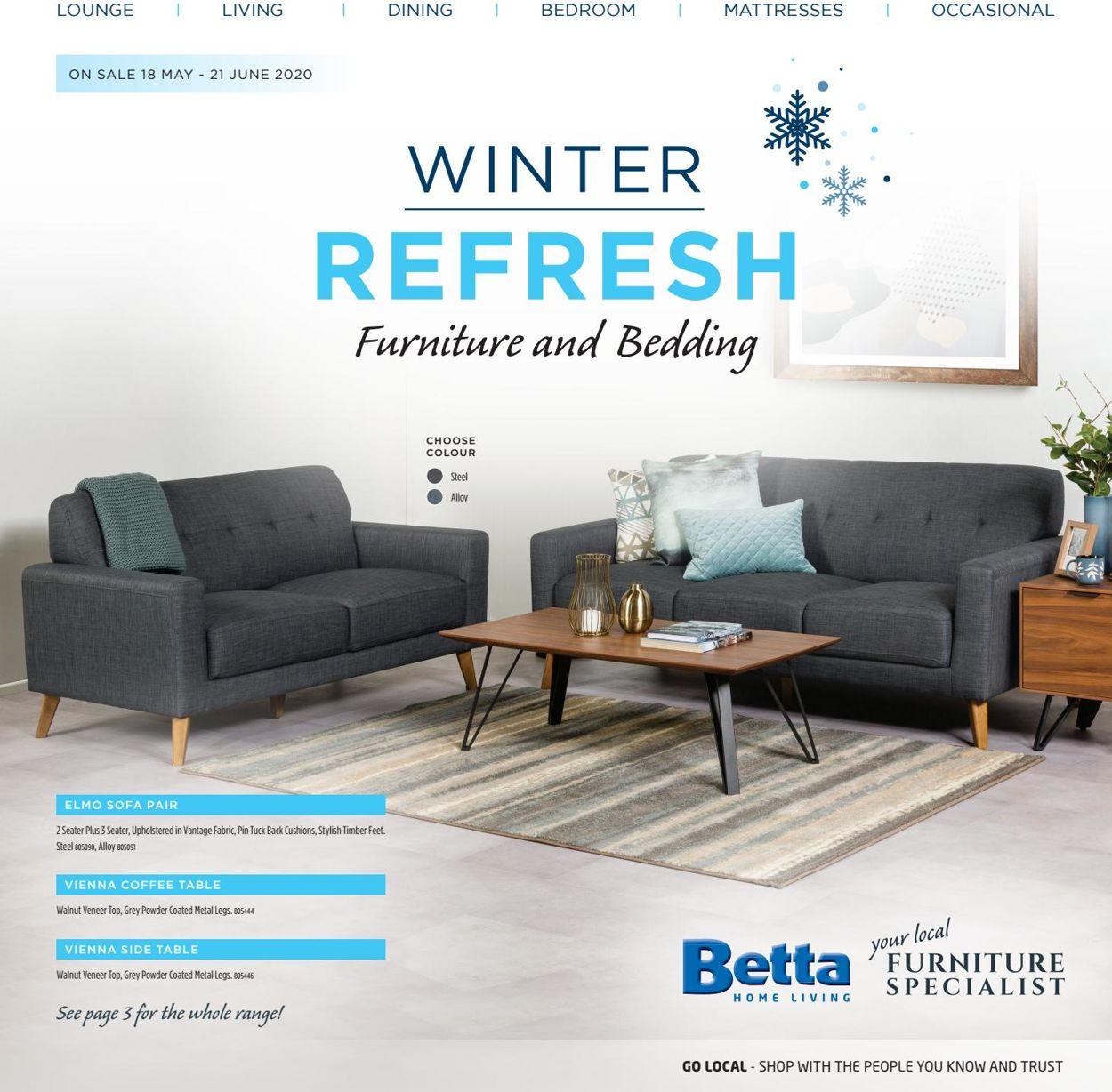 Betta Catalogue - 18/05-21/06/2020