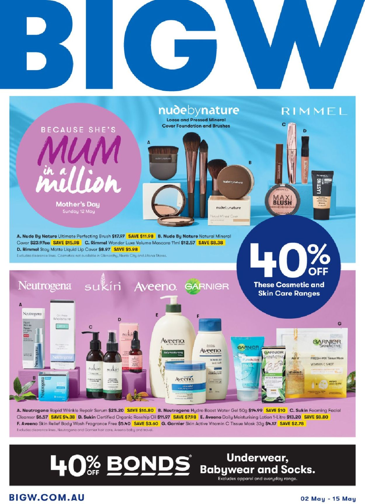 BIG W Catalogue - 02/05-15/05/2019